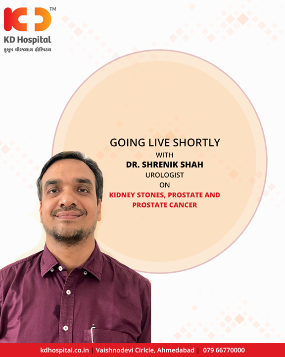 Going LIVE shortly!  #KDHospital #Ahmedabad #Healthcare #GoodHealth #FBLIVE