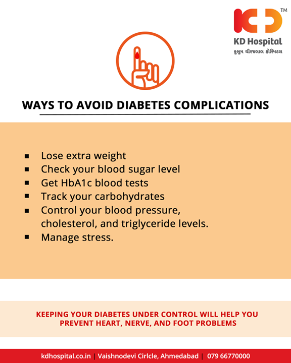 Here's what you can do right now.   #Diabetes #DiabetesCare #KDHospital #Ahmedabad #Healthcare #HealthyLifestyle #GoodHealth