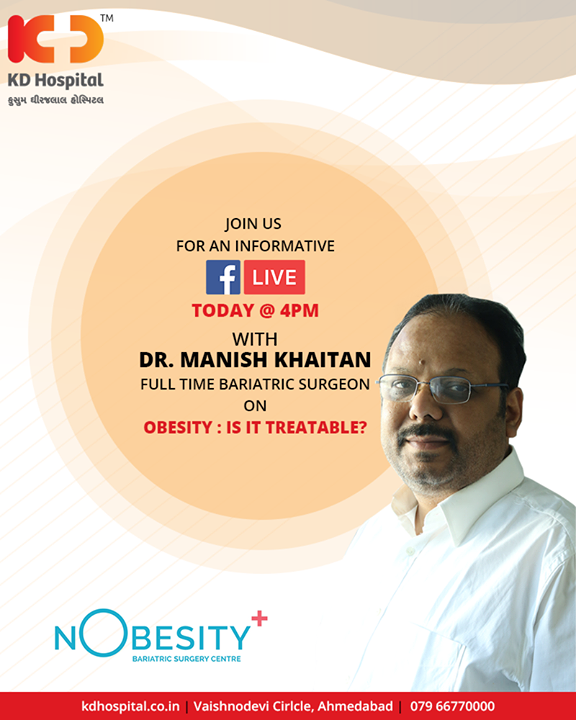 Join us!  #FBLive #KDHospital #Ahmedabad #Healthcare #HealthyLifestyle #GoodHealth