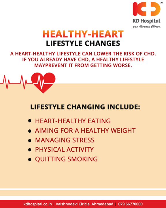 The Health of your heart is in your hands.  #KDHospital #Ahmedabad #Healthcare #HealthyLifestyle #GoodHealth #HealthyHeart #WorldHeartDay