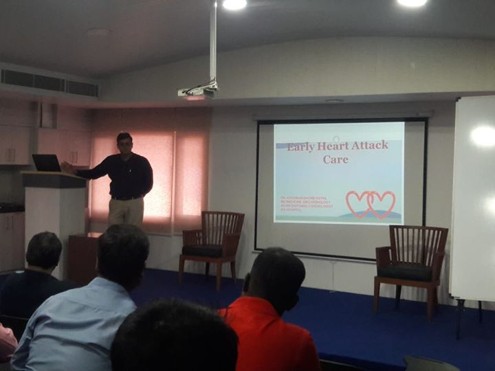 KD Hospital Ahmedabad on the occasion of #WorldHeartDay, organized a talk