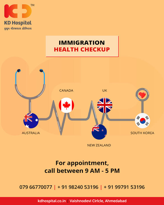Get yourself checked before your next foreign trip!   #KDHospital #GoodHealth #Ahmedabad #Gujarat #India