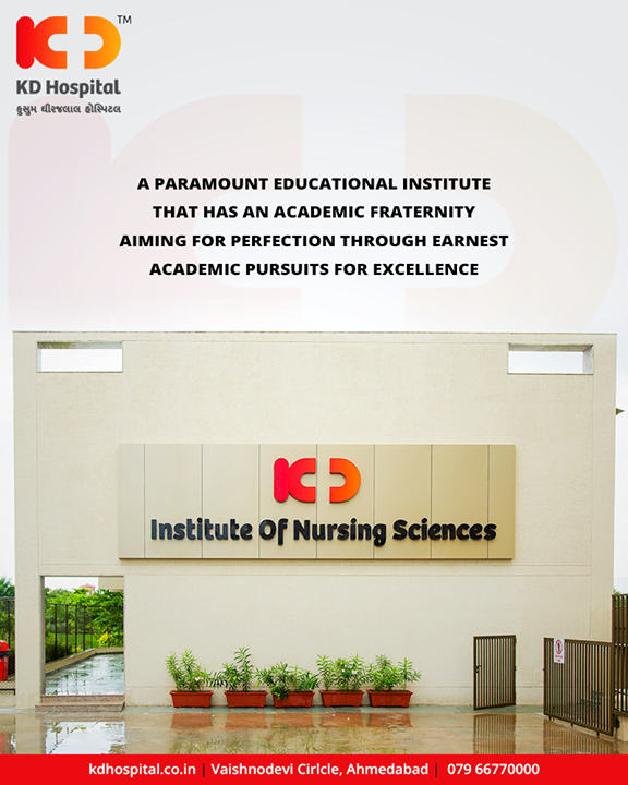 Our efforts blossom into 'service' through our creative and empathetic involvement in the society to transform it.  #KDHospital #GoodHealth #Ahmedabad #Gujarat #India