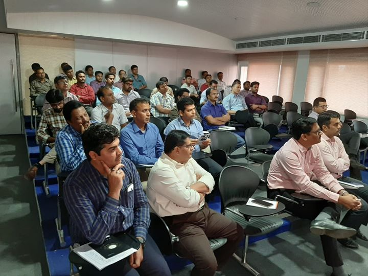 Glimpses from the session on pain management by Dr Rajeev Harshe at Sintex Industries, Kalol  #KDHospital #GoodHealth #Ahmedabad #Gujarat #India
