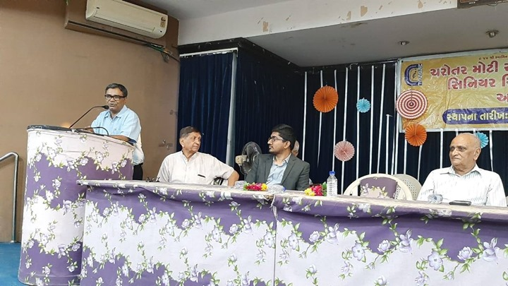 Glimpses from Health Talk at Anand Senior Citizen Forum by Dr Jayesh Rawal (Senior Cardiologist) and Dr Hiren Patt (Endocrinologist)  #KDHospital #GoodHealth #Ahmedabad #Gujarat #India