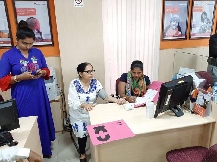 Glimpses from basic health screening camp at ICICI Direct, New CG Road  #KDHospital #GoodHealth #Ahmedabad #Gujarat #India