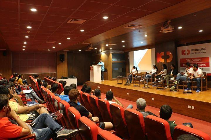 Glimpses from the first pre-marathon workshop!  #KDHospital #GoodHealth #Ahmedabad #Gujarat #India