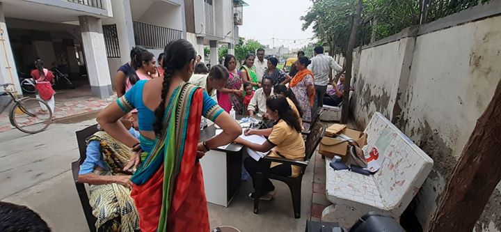 Glimpses from Health Screening Camp at Nilkanth Society, Chandkheda  #KDHospital #GoodHealth #Ahmedabad #Gujarat #India