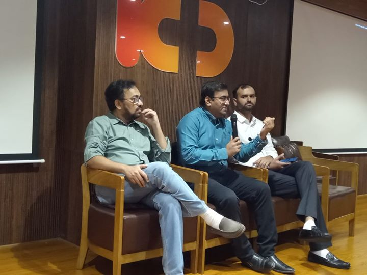 Glimpses from Health talk for LIC Pensioner Association delegates by Dr. Hemang Ambani (Joint replacement surgeon), Dr. Jayesh Rawal (Senior cardiologist), Dr. Samir Patel (Neurologist), Dr. Hardik Yadav (Urologist)  #KDHospital #GoodHealth #Ahmedabad #Gujarat #India