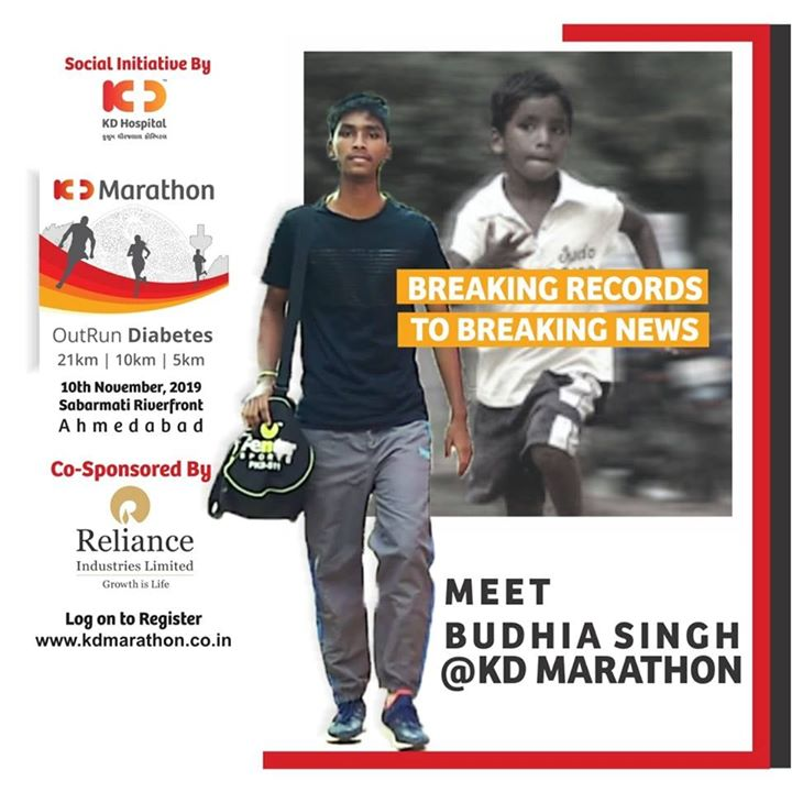 Extending hearty congratulations to the #KDMarathonChampion @MeetBudhiaSingh for being able to create the breaking records and making it big to the breaking news! We also want to thank all the participants of the marathon; #OutRunDiabetes for helping us to make the event a grand and successful one!  #KDMarathon #OutRunDiabetes #diabetesawareness #marathon #marathon2019 #marathonahmedabad #marathonsupport #running #run #amdavadi #ahmedabadmarathon #runningmarathon #marathons #fitnessmotivation #halfmarathon #runthecity
