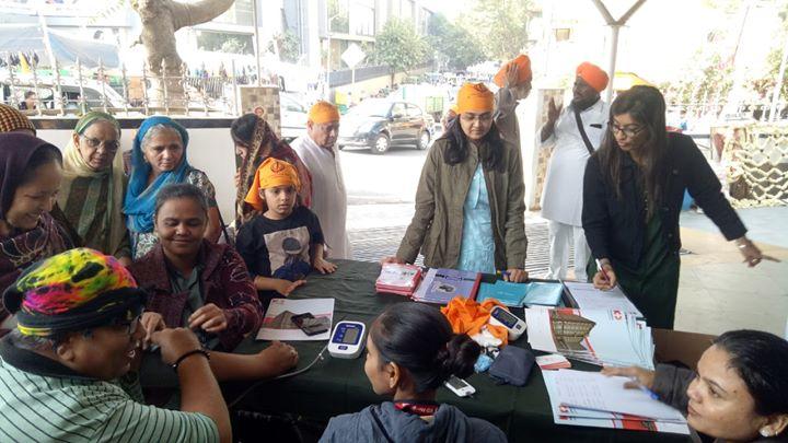 Glimpses from the health screening camp at Gurudwara, SG Highway.  #KDHospital #GoodHealth #Ahmedabad #Gujarat #India