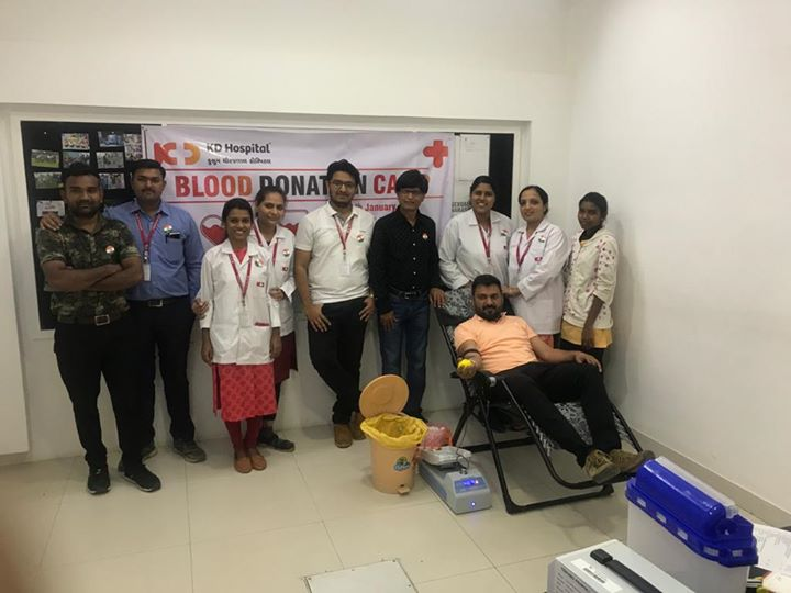 Glimpses from blood donation camp at Godrej Garden City!  For appointment call: +91 79 6677 0000  #DonateBlood #KDHospital #goodhealth #health #wellness #fitness #healthy #healthiswealth #wealth #healthyliving #joy #patientscare #Ahmedabad #Gujarat #India