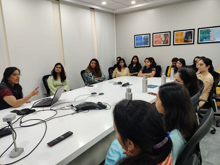 On the occasion of International Women's Day, Women health talk on  Common Gynaec Problems by Dr Nita Thakre (gynecologist) organized at Zymr System India Private Limited  #KDHospital #goodhealth #health #wellness #fitness #healthy #healthiswealth #wealth #healthyliving #joy #patientscare #Ahmedabad #Gujarat #India