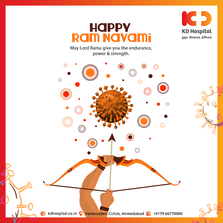 May Lord Rama give you the endurance, power & strength.  #kdhospital #RamNavami #HappyRamNavami