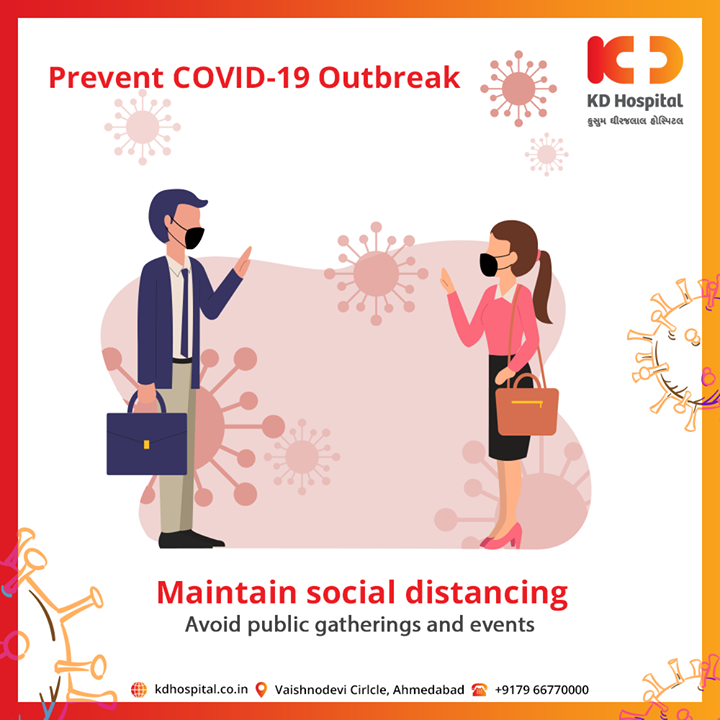 Maintain social distance and safe yourself and other for COVID 19  #CoronaVirus #CoronaAlert #StayAware #StaySafe #pandemic #caronavirusoutbreak #Quarantined #QuarantineAndChill #coronapocalypse #KDHospital #goodhealth #health #wellness #fitness #healthiswealth #healthyliving #patientscare #Ahmedabad #Gujarat #India