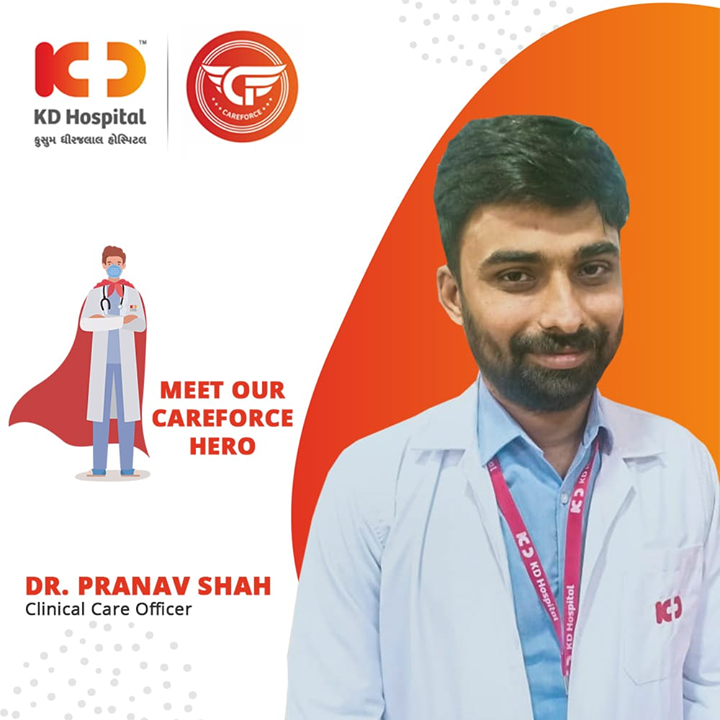Heroes are made by the path they choose, not by the powers they are graced with. We salute Dr. Pranav Shah, Clinical Care Officer, for his will and dedication to be at a forefront in these testing times and hope that he continues with the same enthusiasm  #CoronaVirus #CoronaAlert #StayAware #StaySafe #pandemic #caronavirusoutbreak #Quarantined #QuarantineAndChill #coronapocalypse #KDHospital #goodhealth #health #wellness #fitness #healthiswealth #healthyliving #patientscare #Ahmedabad #Gujarat #India