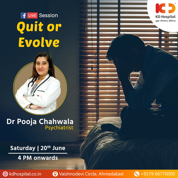 Dr. Pooja Chahwala , Psychiatrist will be available for a session