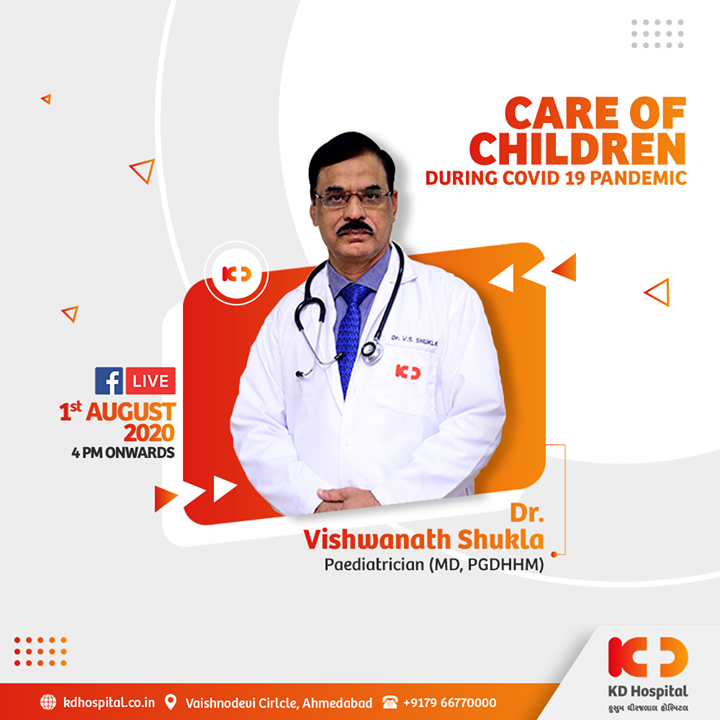 Let's hear it from Dr. Vishwanath Shukla, Paediatrician (MD, PGDHHM)  on