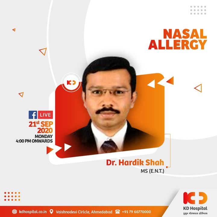 Simple allergies could easily be confused with many of the symptoms of COVID-19 infection. Watch Dr Hardik Shah speaking on the