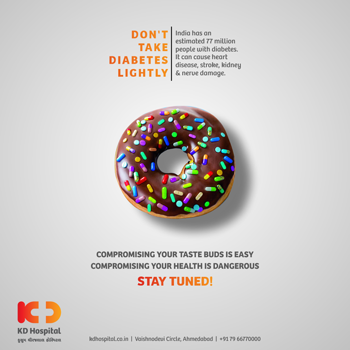 Individuals with diabetes might not have any symptoms initially, so screening tests become peremptory for them. With the rising number of cases in India every year, it's important to get a screening test done to avoid late effects of diabetes, which could affect your feet, eye, nervous system, renal system and many other body systems. Keep following the space to know more about it.   #KDHospital #diabetes #diabetesscreening #diabetesawareness #diabetestype1 #diabetestype2 #diabetescommunity #goodhealth #healthiswealth #healthyliving #patientscare #StayAware #StaySafe #Doctors #DoctorsOfInstagram #Diagnosis #Therapeutics #goodhealth #social #socialmediamarketing #digitalmarketing #pandemic #Ahmedabad #Gujarat #India