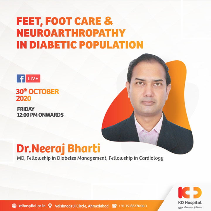 Listen to Dr Neeraj Bharti on Facebook Live talking about