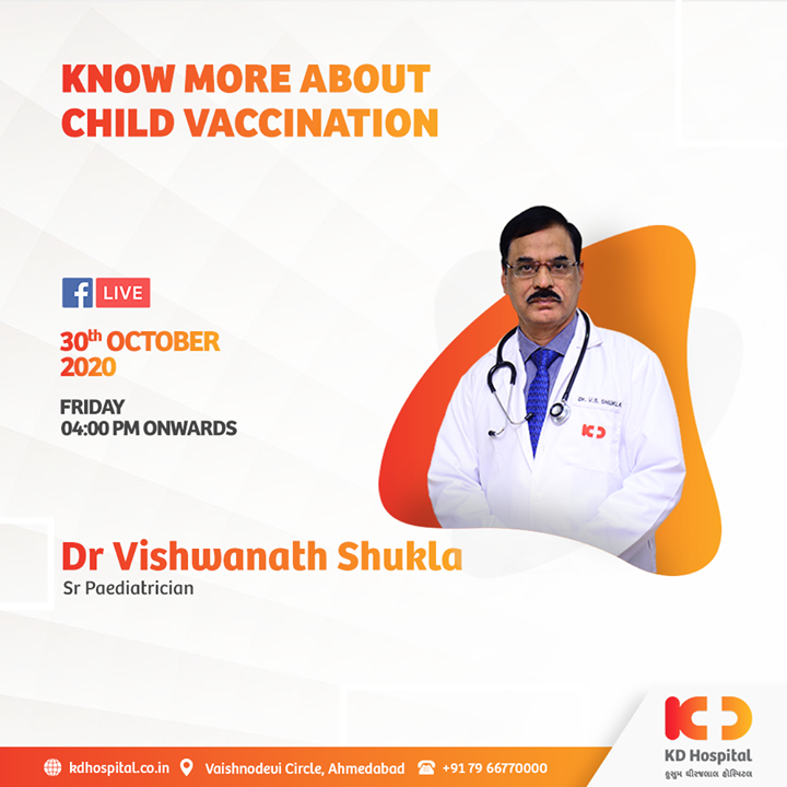 Vaccines lessen the risks of getting an infection by acting on your body's natural defence system. Vaccinations in children are the most viable phenomena to protect them from diseases. Our senior paediatrician Dr Vishwanath Shukla shares his insight on