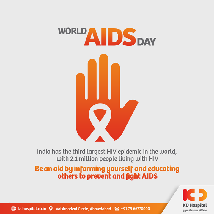 Millions of individuals living with HIV don't have access to the apt treatment, and COVID-19 is compounding the difficulties they face. Let's be all mindful to show support to them to end the stigma.   #KDHospital #WorldAIDSDay #AIDS #AIDSAwareness #RightToHealth #Covid19 #Covid #DoctorsOfInstagram #Diagnosis #Therapeutics #goodhealth #pandemic #socialmedia #socialmediamarketing #wellness #wellnessthatworks #Ahmedabad #Gujarat #India