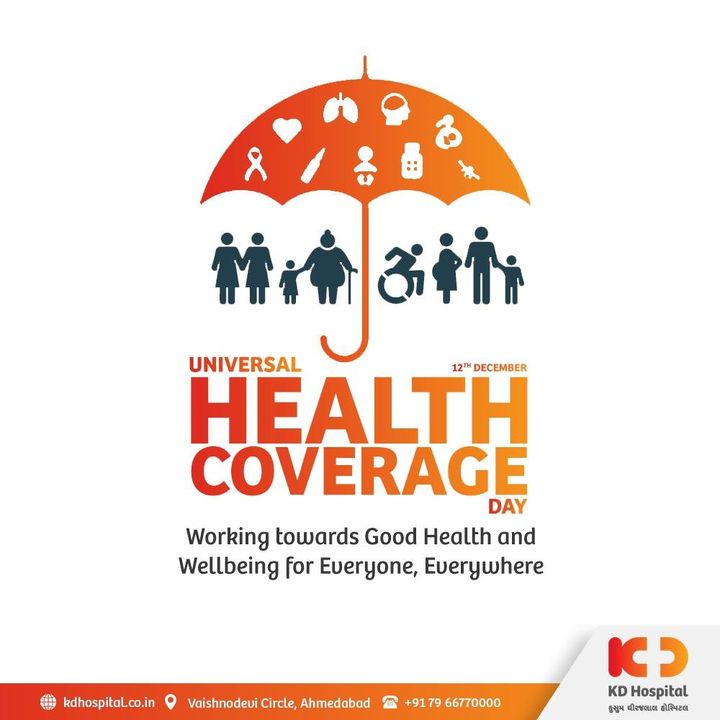 Universal Health Coverage is the right of every human being to enjoy physical and mental health. Ensuring equitable access for citizens regardless of their income, social status, gender or religion & providing preventive, curative and rehabilitative care should be practiced in all countries.   #KDHospital #UniverseHealthCoverageDay #DoctorsOfInstagram #Diagnosis #Therapeutics #goodhealth #pandemic #socialmedia #socialmediamarketing #digitalmarketing #wellness #wellnessthatworks #Hospital #Ahmedabad #AhmedabadHospital #Gujarat #India