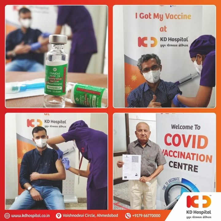 Covid vaccination drive begins today at KD Hospital. Get yourself vaccinated by taking CoviShield. #ImmunisedIndia   #KDHospital #largestvaccinedrive #CoviShield #covid #CovidVaccine #NABHHospital #QualityCare #hospitals #doctors #healthcare  #medical #health #hospital  #nurses #medicine #coronavirus #staysafe #physicians #surgery #surgeon #wellnessthatworks #Ahmedabad #Gujarat #India
