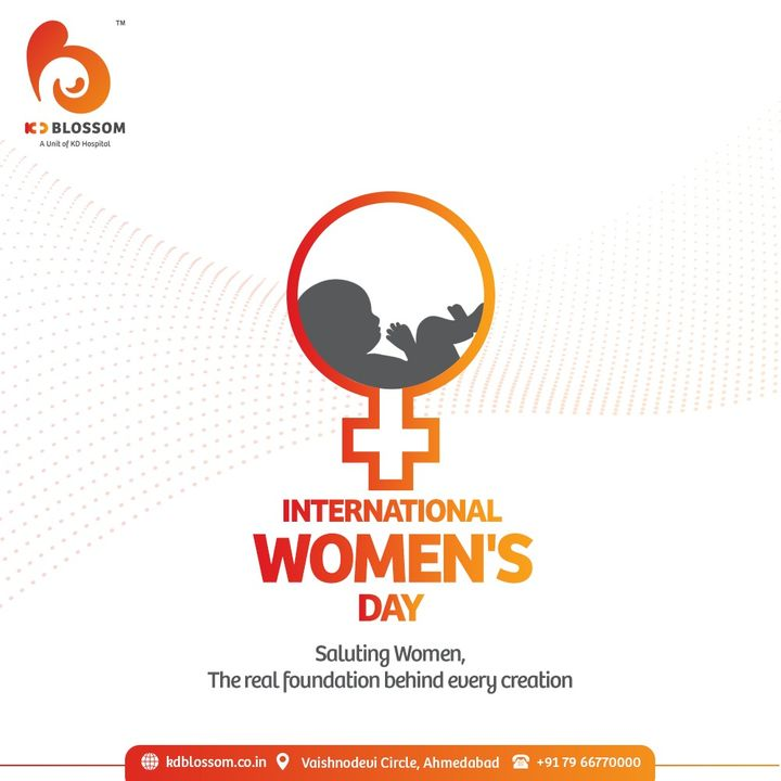 KD Hospital salutes the unwavering quintessence of a woman who is breaking the stigma with her achievements in every single field she puts her feet forward. Happy International Women's Day.  #KDHospital #InternationalWomensDay #InternationalWomensDay2021 #WomensDay #WomenEmpowement #womenshealth #Diagnosis #Therapeutics  #Awareness #wellness #goodhealth #wellnessthatworks #Nusring #NABHHospital #QualityCare #hospitals #doctors #Nurses  #healthcare #medical #health  #Ahmedabad #Gujarat #India