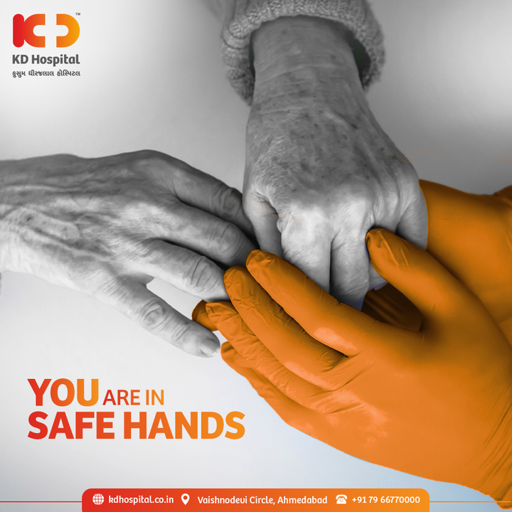 KD Hospital frontliners ensure your safety all the time.   #KDHospital #Compassion #Safety #PatientSafety #SafetyComesFirst #SafetyFirst #SafetyMeasures #Diagnosis #Therapeutics #Awareness #wellness #goodhealth #wellnessthatworks #Nusring #NABHHospital #QualityCare #hospitals #doctors #healthcare #medical #health #physicians #surgery #surgeon #Ahmedabad #Gujarat #India