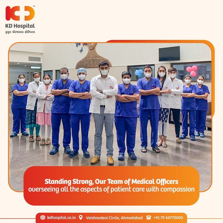 Frontliners from Team Medical Officers putting their foot forward for saving patients' lives.   #KDHospital #TeamWork #MedicalOfficers #Doctors #Frontliners #Compassion #Safety #PatientSafety #SafetyComesFirst #SafetyFirst #SafetyMeasures #Diagnosis #Therapeutics #Awareness #wellness #goodhealth #wellnessthatworks #Nusring #NABHHospital #QualityCare #hospitals #healthcare #physicians #surgeon #Ahmedabad #Gujarat #India