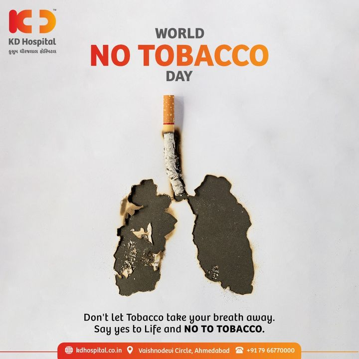 The pandemic has made us realize the need to quit smoking more than ever. There's no better day than today to quit smoking. #CommitToQuit smoking and help others do the same on  #WorldNoTobaccoDay.  #KDHospital  #NoTobacco #WorldNoTobaccoDay2021 #Compassion #Safety #PatientSafety #SafetyComesFirst #SafetyFirst #SafetyMeasures #Diagnosis #Therapeutics #Awareness #wellness #goodhealth #wellnessthatworks #Nusring #NABHHospital #QualityCare #hospitals #healthcare #physicians #surgeon #Ahmedabad #Gujarat #India