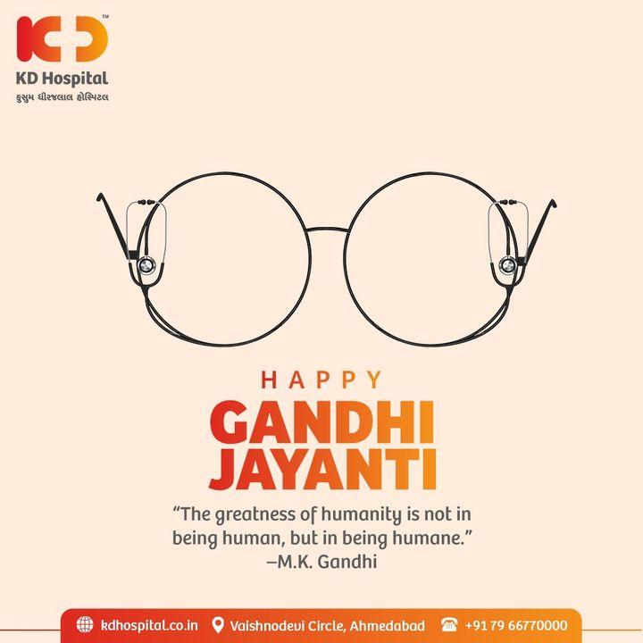 Saluting the valiant spirit of the Shri Mahatma Gandhi for inspiring our generation.  #MahatmaGandhi #HappyMahatmaGandhi #GandhiJayanti2021 #Bapu #FatherOfNation #KDHospital #October #CancerTreatment #Doctors #Diagnosis #Therapeutics #goodhealth #soical #socialmediamarketing #digitalmarketing #wellness #wellnessthatworks #Ahmedabad #Gujarat