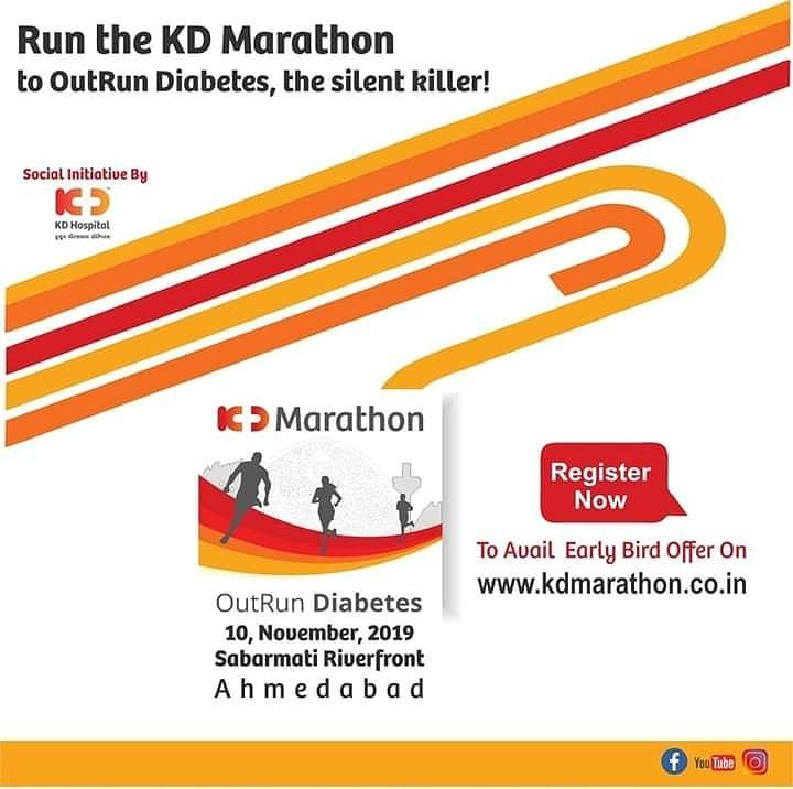 #KDMarathon #KDHospital #GetSetAndWin #MarathonLovers #AhmedabadRunners #AhmedabadDistanceRunners