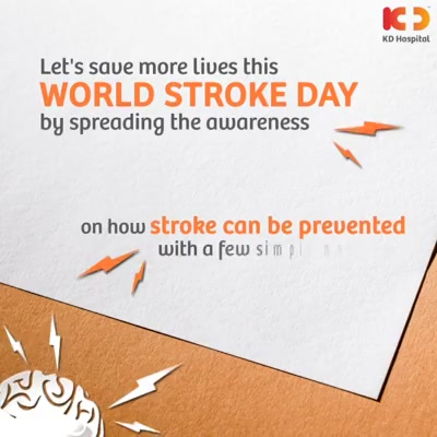 1 in 4 adults may have a stroke in their lifetime. This