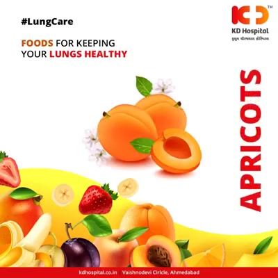 Healthy food leads to a healthy lung!   #HealthyLungs #HappyLife #KDHospital #GoodHealth #Ahmedabad #Gujarat #India