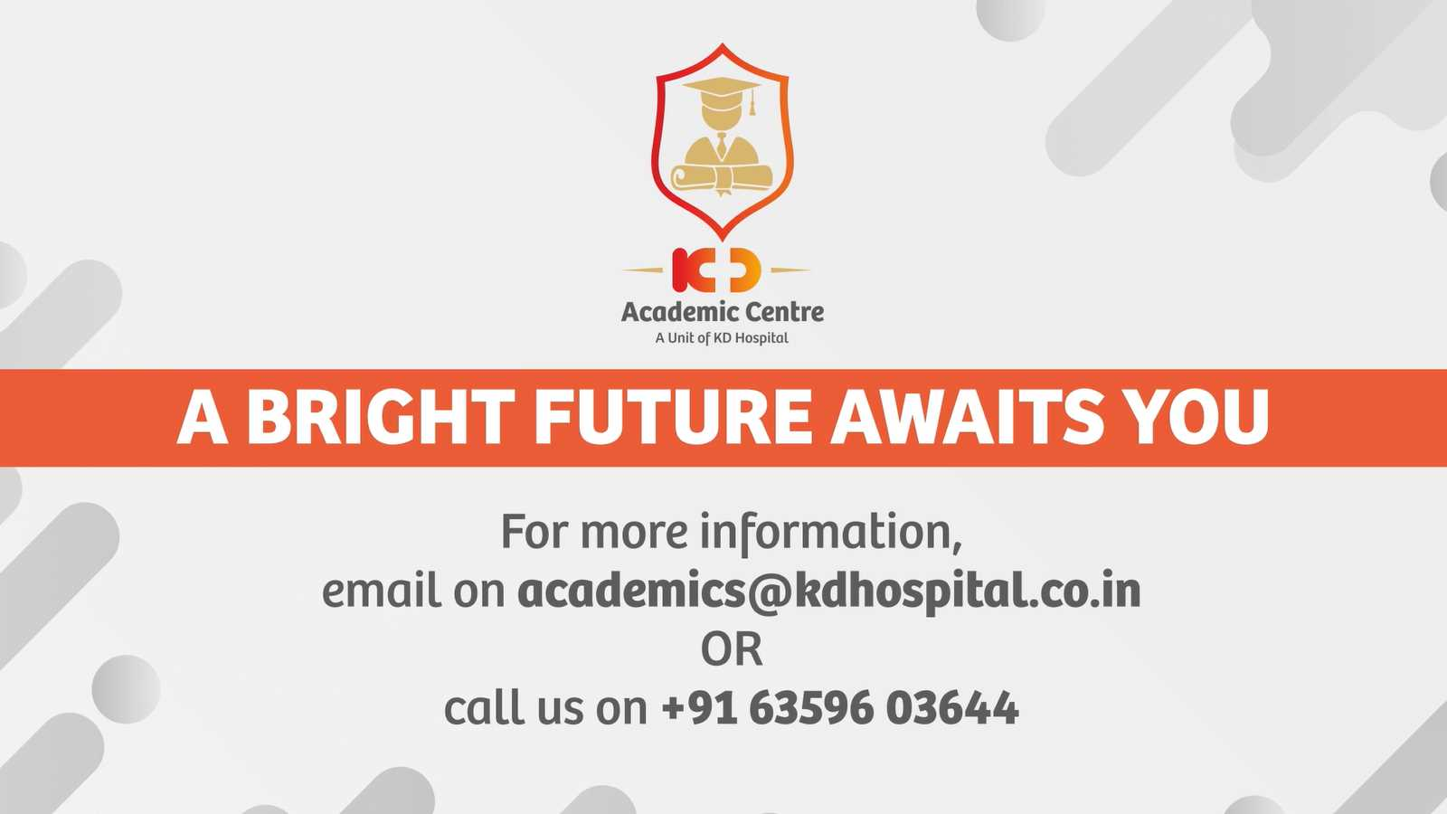 ADMISSIONS ARE OPEN!!!  Joining KD Academics can be life-changing! Get a chance to quality education, skills and training, We ensure success becomes your story. More Information Call:- +91 6359603644 or visit:- https://bit.ly/3hlLZuo  #kdacademics #CareerinParamedical  #paramedical #paramedicalstudies #xray #CTscan #MRI  #career  #jobopportunity #healthcare #paramedic #ParamedicalCourses #academics #admission #courses #medical #health #Connections #wellness #Nusring  #medicalstudent #medicalschool #becomeaparamedic #placement #studentsuccess #Ahmedabad #Gujarat #India