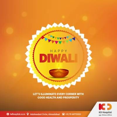 Let's illuminate every corner with good health and prosperity.  #HappyDiwali #Diwali2020 #Diwali #IndianFestival #Celebration #DoctorsOfInstagram #Diagnosis #Therapeutics #goodhealth #pandemic #socialmedia #socialmediamarketing #digitalmarketing #wellness #wellnessthatworks #Ahmedabad #Gujarat #India
