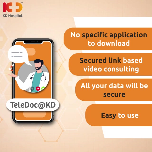 Consult our expert doctors from your home with a click on your phone  #TeleDoc #KDHospital #goodhealth #health #wellness #fitness #healthiswealth #healthyliving #patientscare #Ahmedabad #Gujarat #india