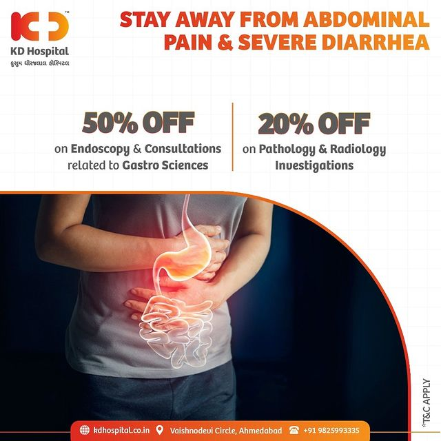 Crohn's disease is a chronic inflammatory bowel disease that affects the lining of the digestive tract. Get yourself checked in case you experience any symptoms. Call Now: +919825993335 to book an appointment. Avail concessional Rates till 15th August'21 only.  #KDHospital #GastroSciences #GastroEnterology #GastroSurgery #Bowel #Inflammation #CrohnsDisease #Fatigue #WeightLoss #Digestion #ColonCancer #Cancer #StomachDiseases #Diagnosis #Awareness #goodhealth #Nusring #NABHHospital #QualityCare #hospital #explore #healthcare #physicians #surgeon #Ahmedabad #Gujarat #India