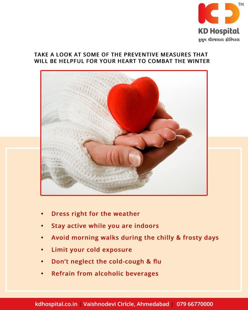 KD Hospital | WinterTips | HeartHealth | KDHospital | GoodHealth
