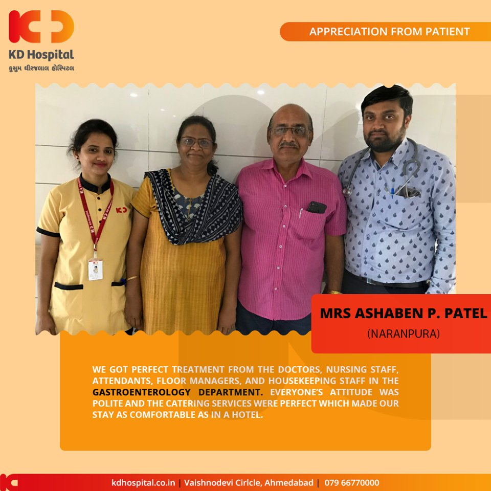 Glad towards the trust that our patients show in us! Treating them & seeing them leave with a smile is what we always aim for!  #KDHospital #GoodHealth #Ahmedabad #Gujarat #India #Appreciation https://t.co/fvzWttBM5J